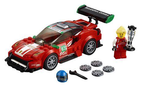 "LEGO Speed Champions Ferrari 488 GT3 ""Scuderia Corsa"" 75886 Building Kit..."