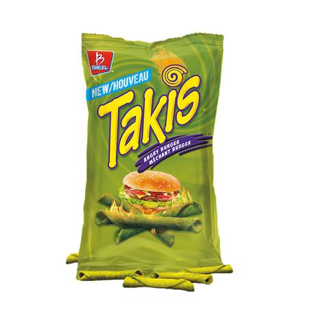 TAKIS Angry Burger Tortilla Chip Snacks, Fully-loaded Burger Flavour - image 1 of 7