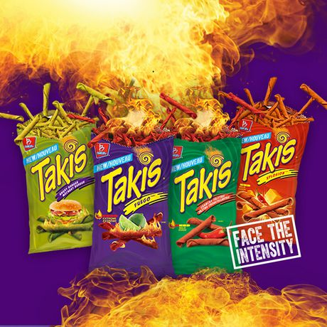 TAKIS Angry Burger Tortilla Chip Snacks, Fully-loaded Burger Flavour - image 4 of 7