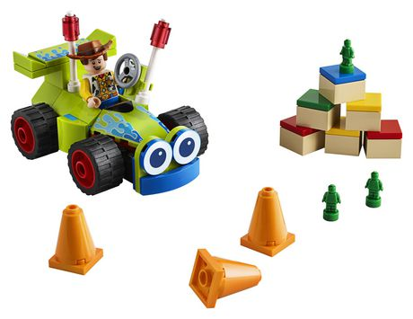 LEGO Disney Pixar's Toy Story 4 Woody & RC 10766 Building Kit (69 Piece) - image 3 of 5