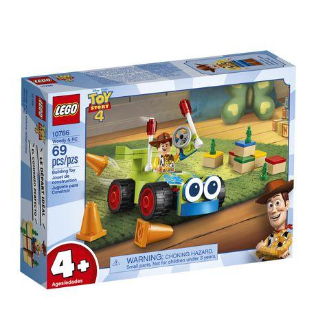 LEGO Disney Pixar's Toy Story 4 Woody & RC 10766 Building Kit (69 Piece) - image 2 of 5