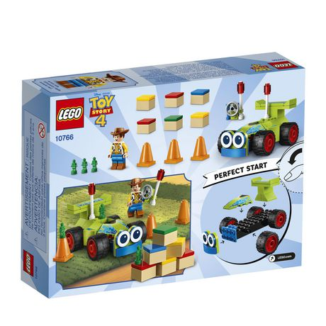 LEGO Disney Pixar's Toy Story 4 Woody & RC 10766 Building Kit (69 Piece) - image 5 of 5