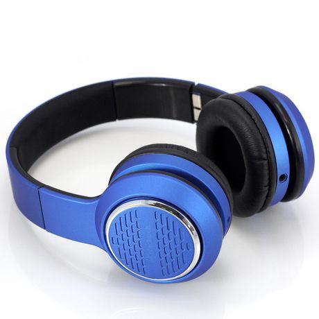 blackweb Over-Ear Premium Series Headphones - Blue - image 3 of 6