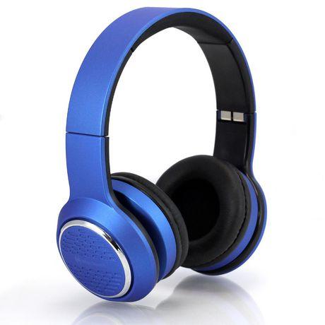 blackweb Over-Ear Premium Series Headphones - Blue - image 2 of 6