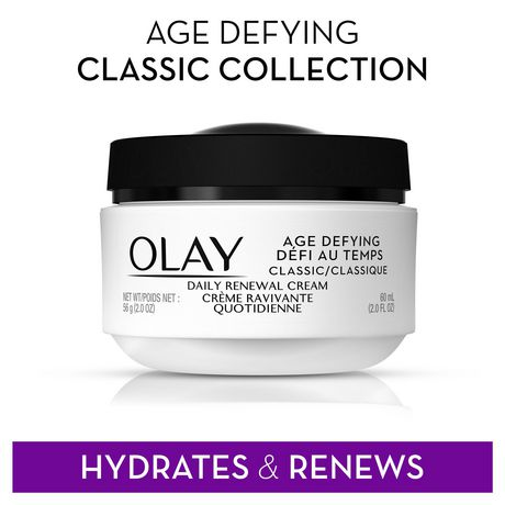 Olay Age Defying Classic Daily Renewal Cream, Face Moisturizer - image 6 of 7