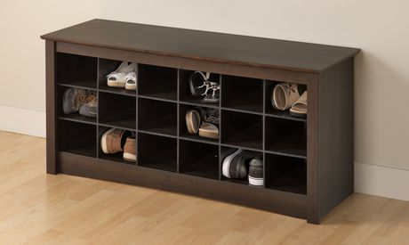 Shoe Storage Cubbie Bench - image 2 of 4