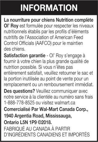 Ol' Roy Nutrition Complète - image 7 de 11