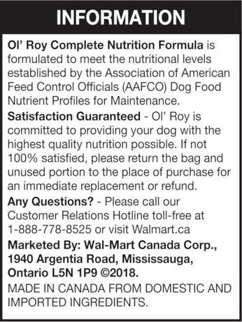 Ol' Roy Nutrition Complète - image 4 de 11