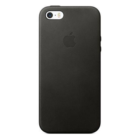 outlet store 8c2e8 6bd1d Apple iPhone SE Black Leather Case