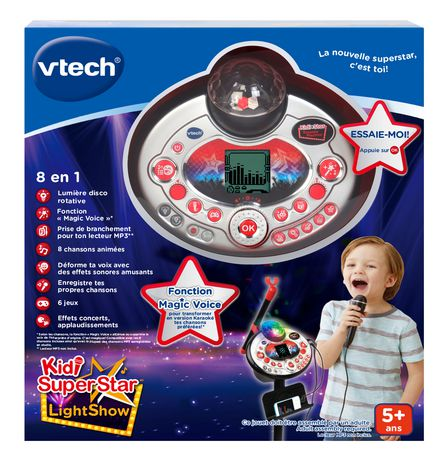 VTech Kidi Superstar Lightshow - Noir - Version française - image 4 de 5