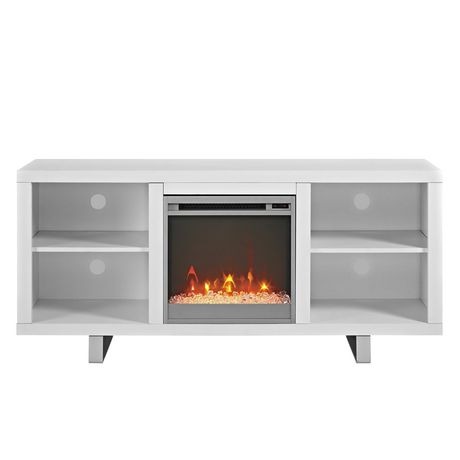 "Manor Park Modern Fireplace TV Stand for TV's up to 64"" - Multiple Finishes - image 2 of 7"