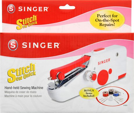 SINGER Stitch Sew Quick TM Walmart Canada Impressive Singer Handheld Sewing Machine Walmart