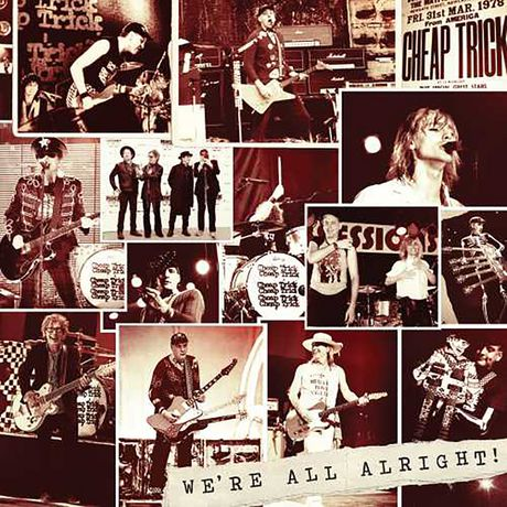 Cheap Trick - We're All Alright! (Vinyl LP) - image 1 of 1