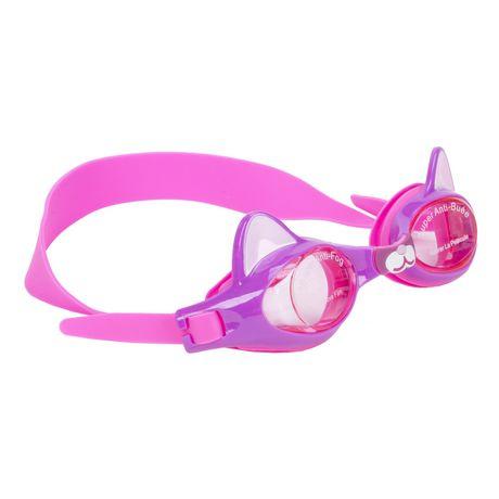 f86f44cebfe1 Generic CAT Ears Anti Fog Kids Swim Goggles - image 1 of 5 ...
