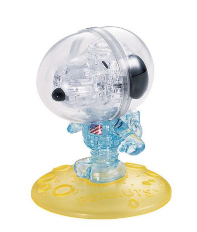 University Games Licensed Crystal Puzzles - Peanuts: Snoopy The Astronaut - image 1 of 2