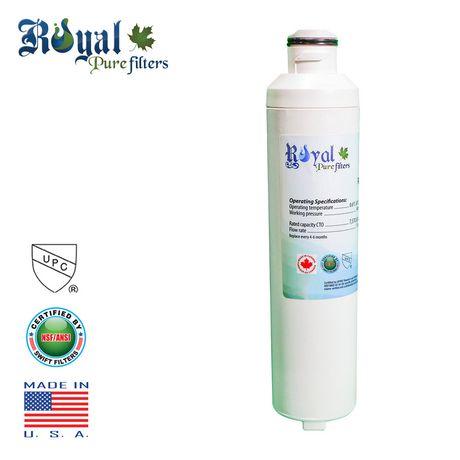 Royal Pure Filtres RPF-DA29-0020B filtre à eau de remplacement pour Samsung DA29-0020B, DA2900019A, DA2900020A, DA-97-08006A-B, DA-97-08006B, HAF-CIN, HAF-CIN-EXP, HAF-CINEXP - image 1 de 4