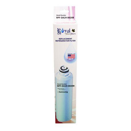 Royal Pure Filtres RPF-DA29-0020B filtre à eau de remplacement pour Samsung DA29-0020B, DA2900019A, DA2900020A, DA-97-08006A-B, DA-97-08006B, HAF-CIN, HAF-CIN-EXP, HAF-CINEXP - image 4 de 4