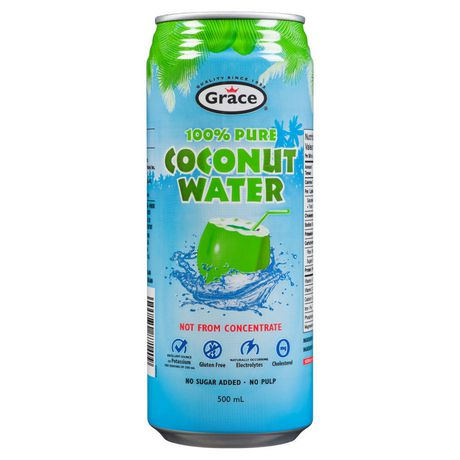 Grace 100 % Pure Coconut Water - image 1 of 2