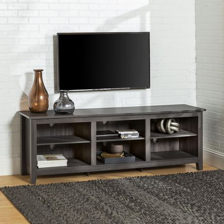 """Manor Park Minimal Farmhouse TV Stand for TV's up to 78""""- Multiple Finishes - image 1 of 7"""
