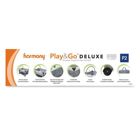 Harmony Play & Go Deluxe Playard - image 7 of 7