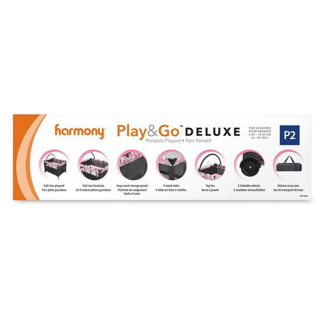 Harmony Play & Go Deluxe Playard - image 7 of 7