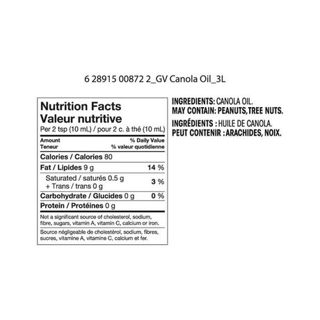 Great Value Canola Oil - image 2 of 2