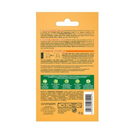 Garnier SkinActive Moisture Bomb Brightening Eye Sheet Mask - image 5 of 7