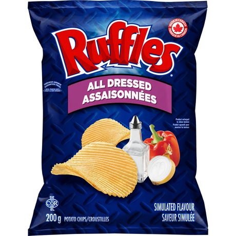 Ruffles All Dressed Potato Chips - image 4 of 4