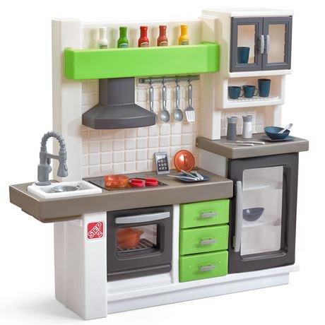 Step2 euro edge kitchen kids 39 play set walmart canada for Kids kitchen set canada