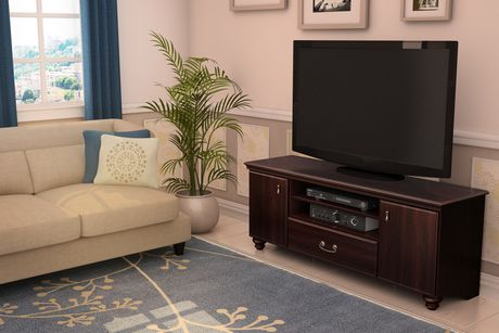 South Shore Noble TV Stand,Dark Mahogany - image 2 of 5