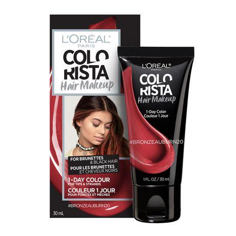 L\'Oreal Paris COLORISTA Hair Makeup Temporary Hair Colour ...