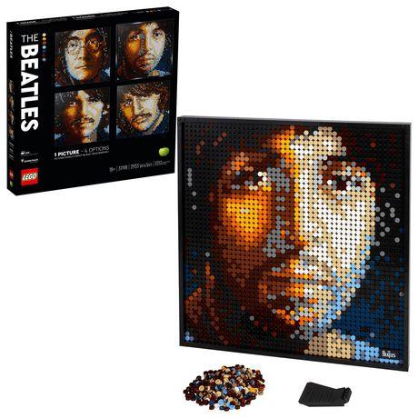 LEGO Art The Beatles 31198 Toy Building Kit (2,933 Pieces)