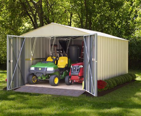 Arrow Commander 10' x 15' Mega Large Durable Outdoor Steel Shed - image 2 of 7
