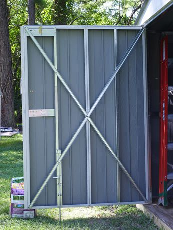 Arrow Commander 10' x 15' Mega Large Durable Outdoor Steel Shed - image 3 of 7