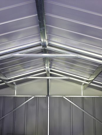 Arrow Commander 10' x 15' Mega Large Durable Outdoor Steel Shed - image 4 of 7