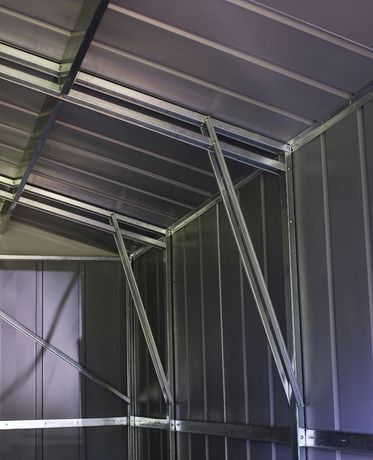 Arrow Commander 10' x 15' Mega Large Durable Outdoor Steel Shed - image 5 of 7