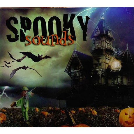 various artists halloween spooky sounds cd