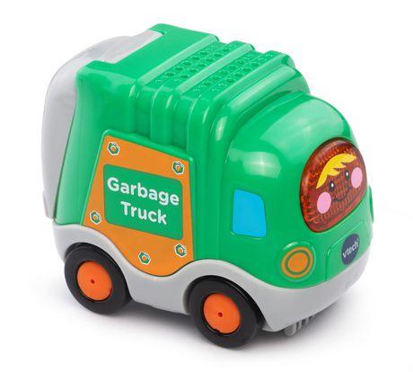 VTech Gary, le camion-poubelle Tut Tut Bolides - Version anglaise - image 1 de 3