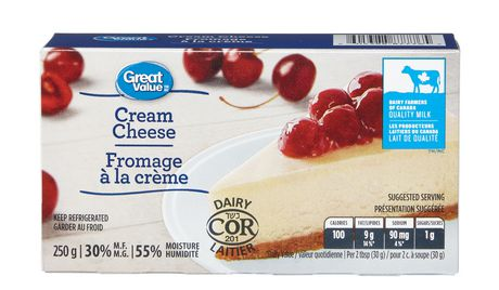 Great Value Cream Cheese - image 1 of 3