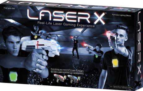 LASER X 2 Player Blasters - image 1 of 5