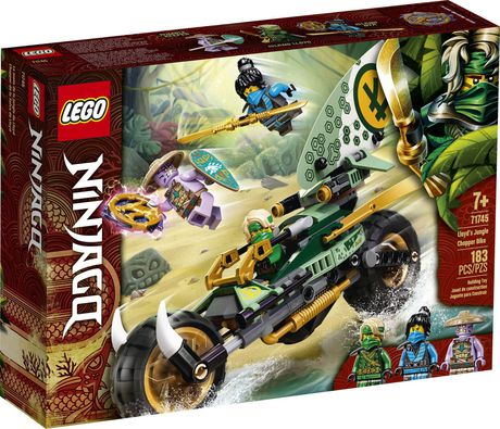 LEGO NINJAGO Lloyd's Jungle Chopper Bike 71745 Toy ...