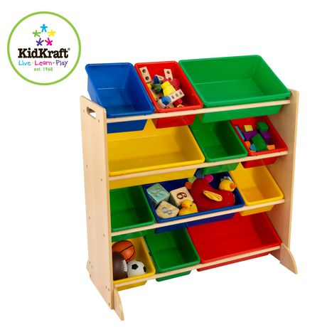 Kidkraft Sort It And Store It Bin Unit - image 1 of 4