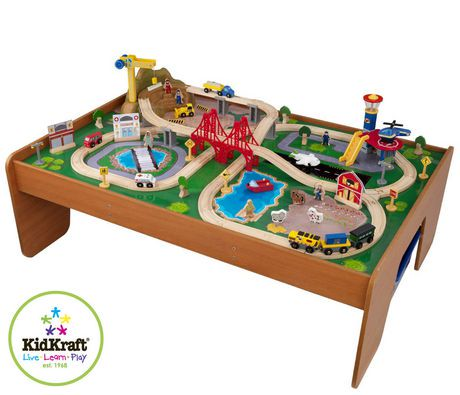 Ride Around Town Train Set with Table | Walmart Canada