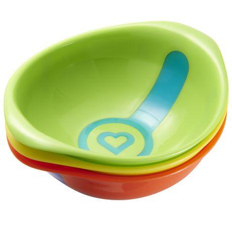 Munchkin White Hot Toddler Bowls - 3 Bowls - image 3 of 4