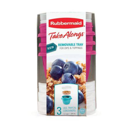 Rubbermaid Takealongs Yogurt & Go Food Containers - image 2 of 4
