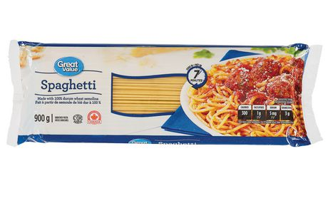 Great Value Dry Pasta Spaghetti - image 1 of 2