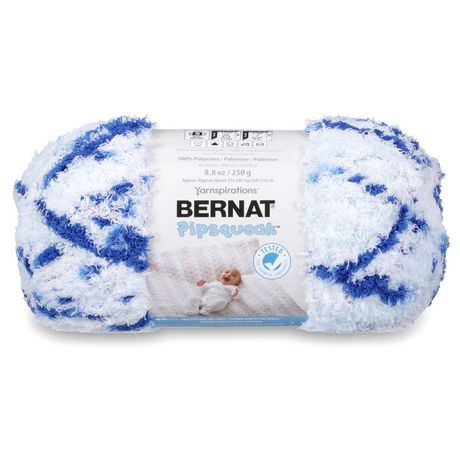 BERNAT PIPSQUEAK YARN (250G/8.8 OZ), BLUE JEAN SWIRL - image 1 of 5
