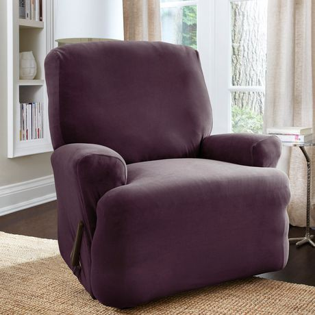 Housse extensible pour fauteuil inclinable harlow de for Housse causeuse inclinable