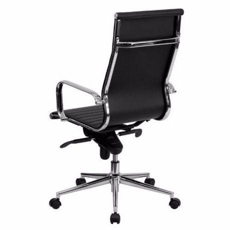 Noire Chaise Exécutif De Dossier Bureau Nicer Furniture À Haut 1TuFKJc35l