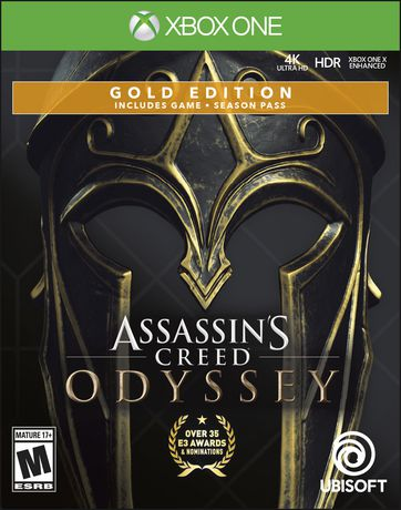 Assassin's Creed Odyssey Gold Edition (Xbox One) - image 1 of 6